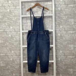 Free People Cropped Overalls Size 4